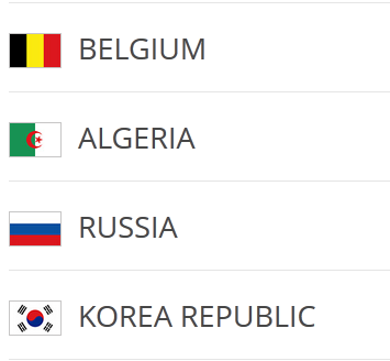 Group H - World Cup - Belgium