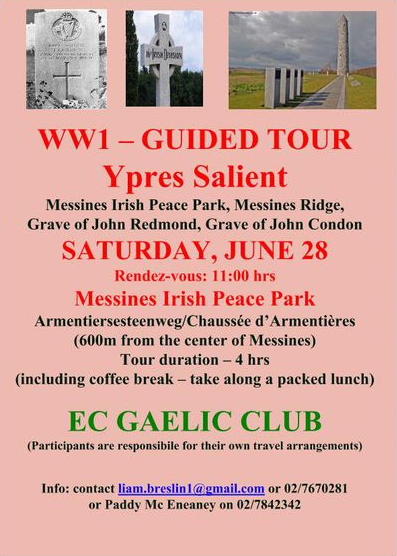 Ypres guided tour