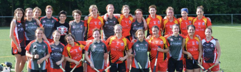 Final Belgian Ladies squad - As and Bs zusammen